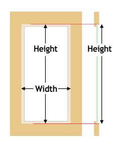 how to measure a rectangle