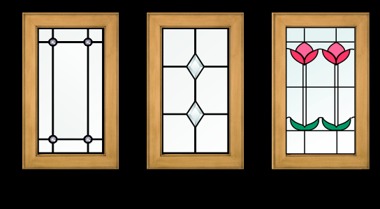 beveled glass designs