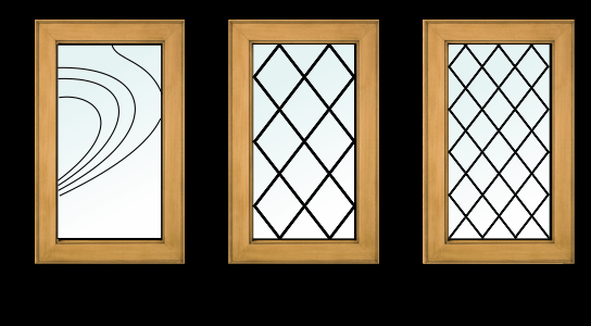 leaded glass designs